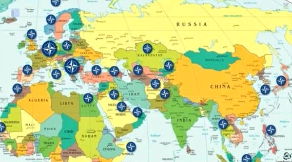 NEXIT WHY NATO NEEDS TO EXIT Cecile Pineda Planetarian - Map pf nato and us bases